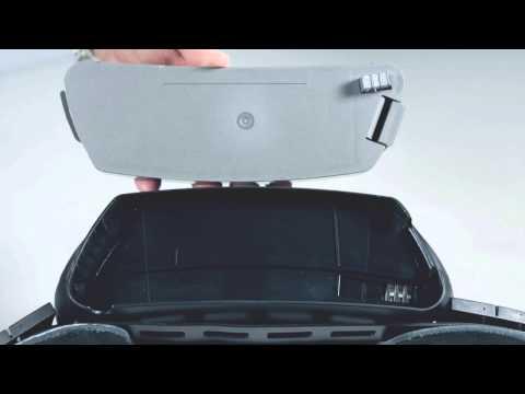 Battery change on Adflo powered air respirator