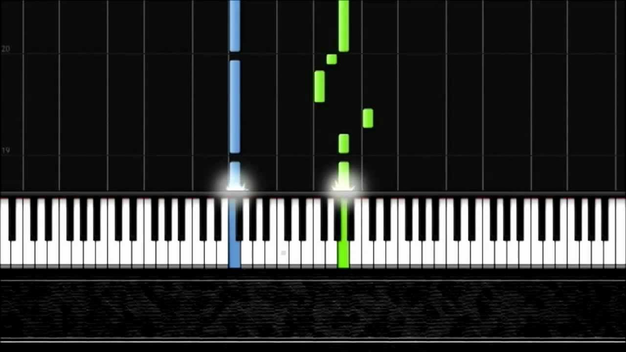 Jingle Bells - Easy Piano Tutorial by Pluta-X (50%) Synthesia
