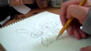 Drawing oswald and mickey (2)