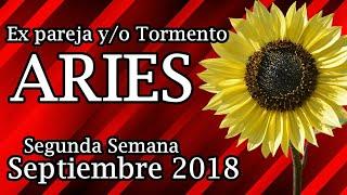 Aries  Ex pareja 2a  Semana Septiembre 2018 😢💔
