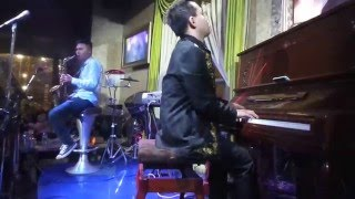 Gót Hồng-Saxophone Ngọc Minh & Piano Khang Nhi 07-03-2016