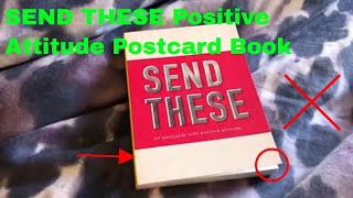 ✅  How To Use SEND THESE Positive Attitude Postcard Book Review