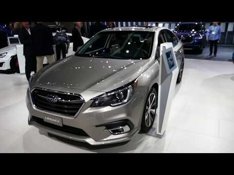 New 2018 Subaru Legacy Sedan - Exterior Walk Around & Interior Look - 2017 LA Auto Show