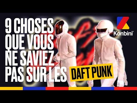 Daft Punk : de l'origine de leur nom à leur passage à Cannes, 9 choses que vous ignoriez l Konbini