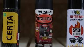 видео термостойкая краска