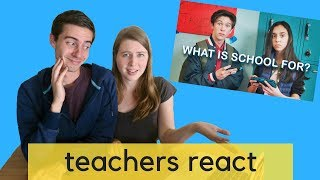 """Teachers React to Prince Ea's """"WHAT IS SCHOOL FOR?"""""""