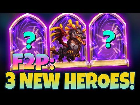 JT's F2P Gets Lavanica Plus 2 New Heroes Castle Clash
