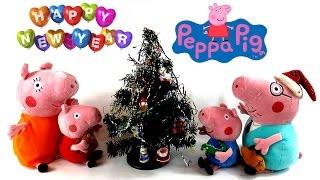 ✿ Мультик для детей: Свинка Пеппа украшает Новогоднюю елочку(Свинка Пеппа и Большая Новогодняя Машинка Деда Мороза! Новый год уже на носу а у Свинки Пеппы до сих пор..., 2014-12-30T13:00:17.000Z)