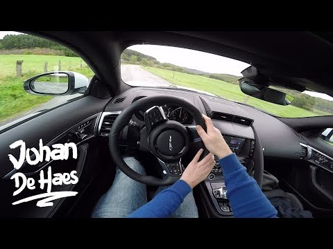 2017 Jaguar F-TYPE Coupé 300hp 2.0 POV Test drive