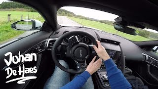 2017 Jaguar F-TYPE Coupé 300hp 2.0 POV Test drive