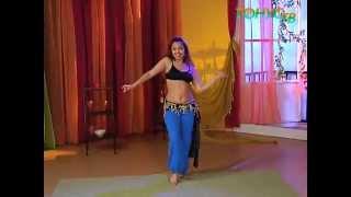 Танец живота для начинающих с Валерией  Путицкой. Урок 12