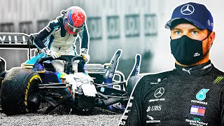 What Impact Will the Russell Bottas Crash Have on Their Mercedes Future?