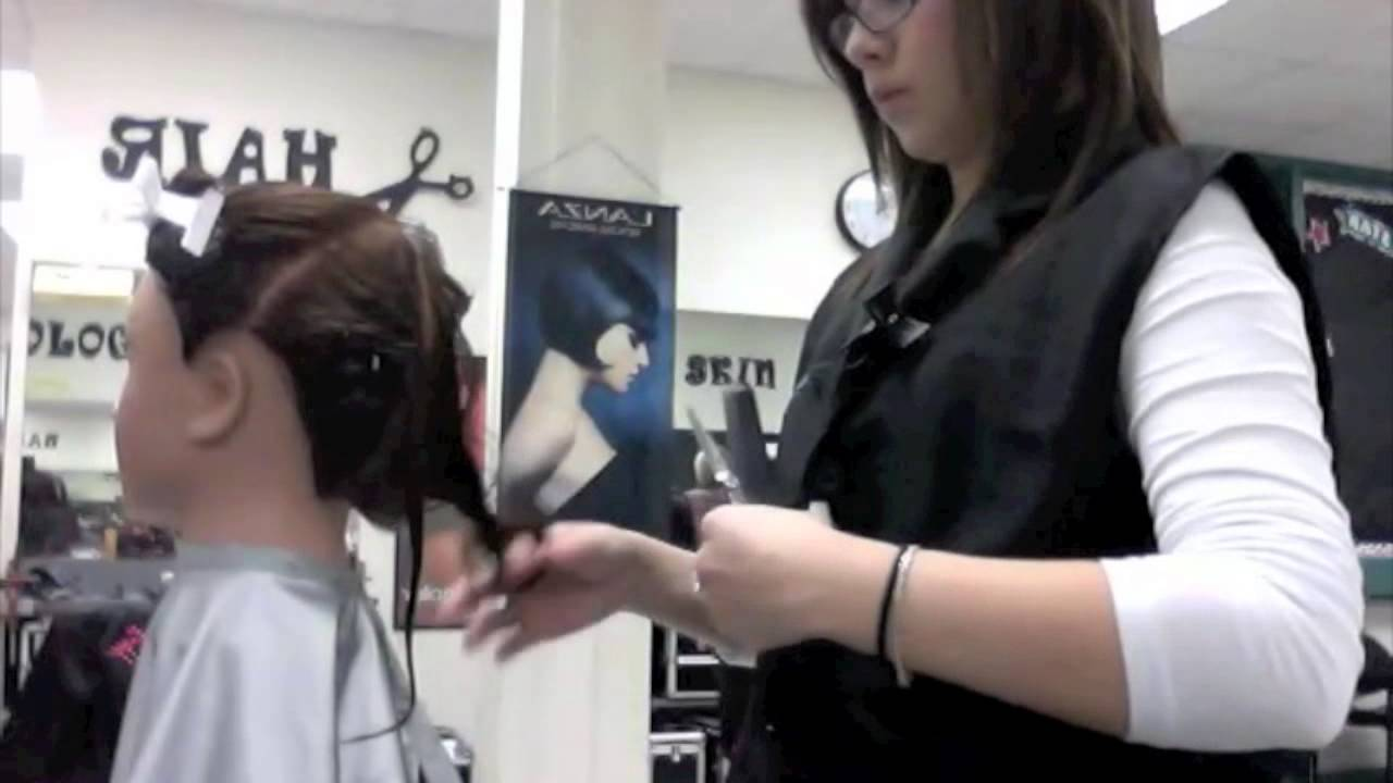 Cosmo Project 180 Degree Haircut Youtube