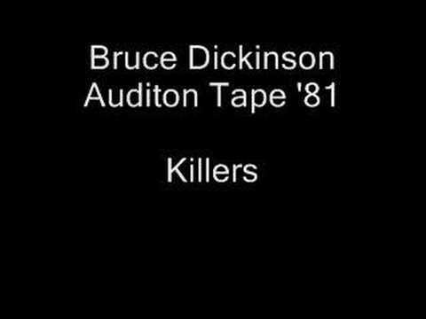 Iron Maiden - Bruce Dickinson Audition Tape - Killers