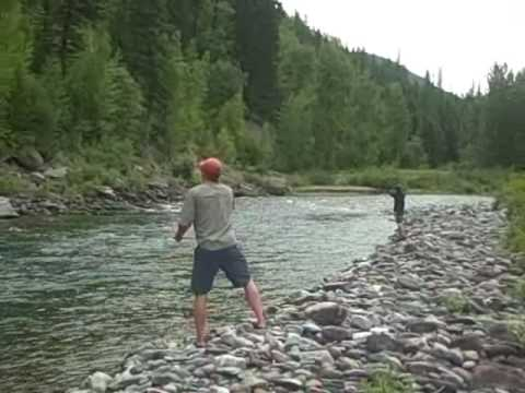 Fly fishing middle fork of the flathead river 08 29 30 09 for Millers river fly fishing
