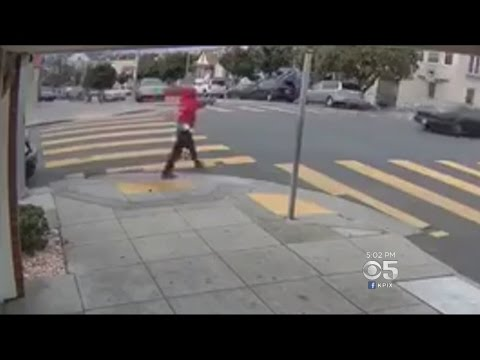 Man Caught On Surveillance Video Shooting At Passing Car In San Francisco's Bayview