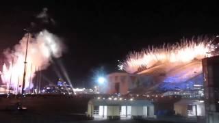 Открытие олимпиады в Сочи 2014. Как зажигали олимпиский огонь