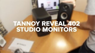 Tannoy Reveal 402 Studio Monitors Review