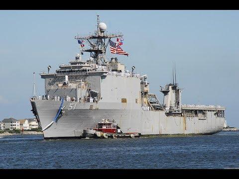 Десантный корабль ВМС США вошел в Чёрное море. В Крыму паника!