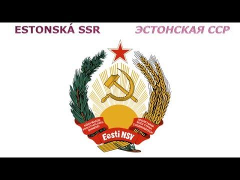 Гербы союзных республик СССР - Znaky Svazových republik SSSR