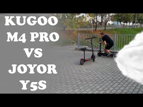 Электросамокат Kugoo M4 Pro 17Ah VS Joyor Y5S 13Ah.