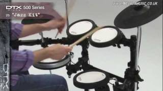 Yamaha DTX 500 Series Electronic Drum Kits Overview - PMT