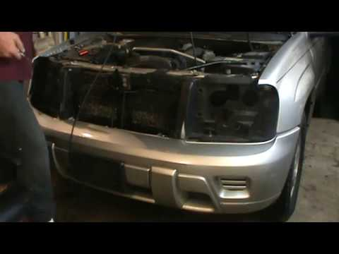 Replacing Chevy Trailblazer Header Panel And Grille Youtube