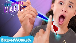 Bloody Pen Trick | JUNK DRAWER MAGIC
