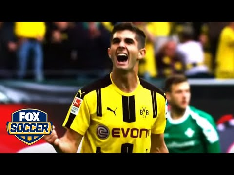 Christian Pulisic's top 5 goals as an 18-year-old | FOX SOCCER
