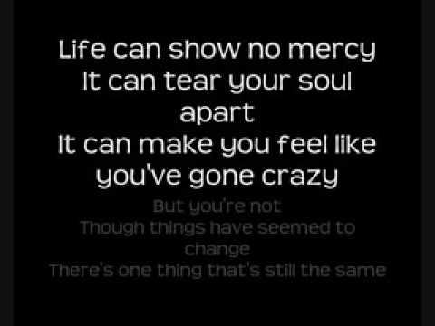 Michael buble lost lyric