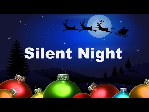 Holiday Classic Songs with Lyrics | Silent Night