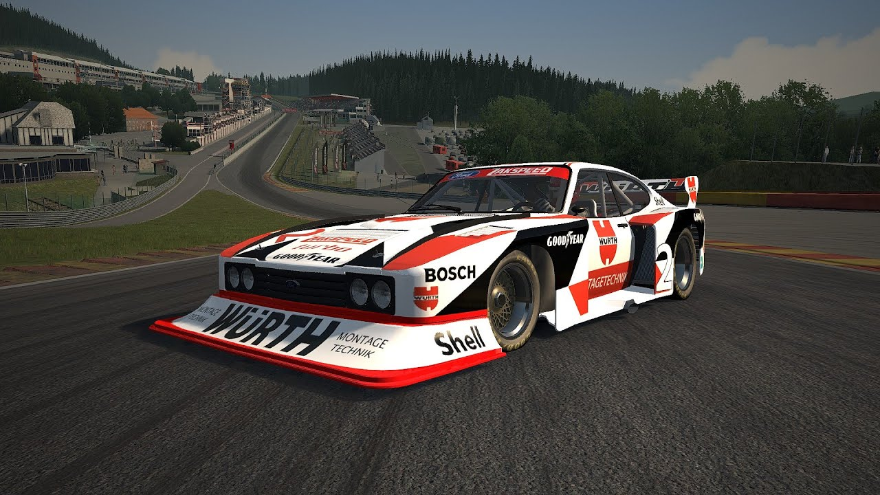 assetto corsa zakspeed capri turbo group 5 mod preview. Black Bedroom Furniture Sets. Home Design Ideas