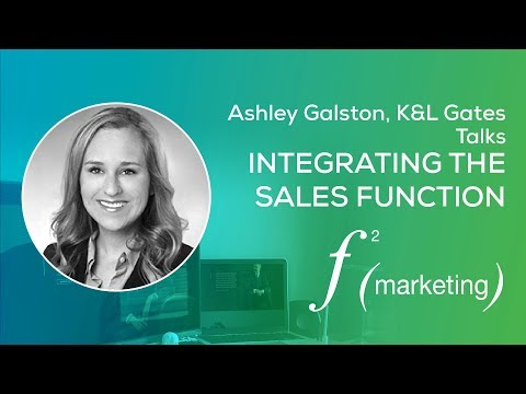 Legal Marketing Trends | Integrating the Sales Function