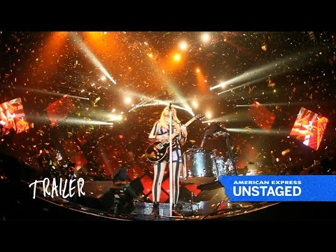 Ellie Goulding directed by Scarlett Johansson | #AmexUNSTAGED Trailer | American Express UNSTAGED