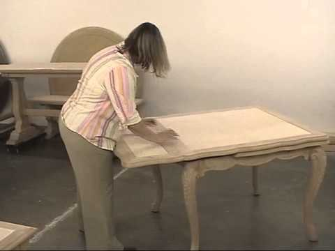 Fremarc Designs Carved French Draw Top Dining Table Video YouTube - Fremarc dining table