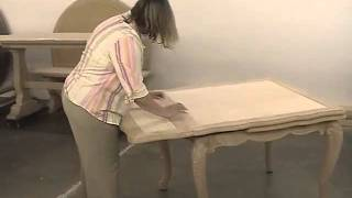 Fremarc Designs Carved French Draw Top Dining Table Video(, 2011-03-08T23:07:49.000Z)