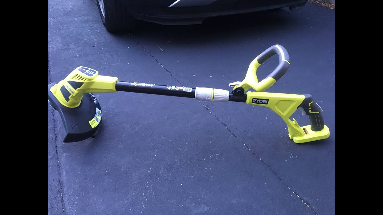 Ryobi 18v One Hybrid String Trimmer Review