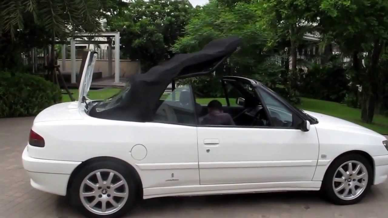 peugeot 306 cabriolet youtube. Black Bedroom Furniture Sets. Home Design Ideas