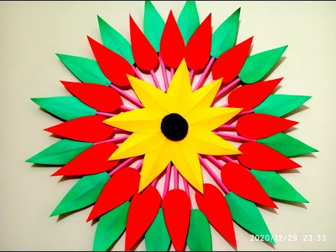 how-to-make-wall-hanging-/-wall-hanging-decoration-ideas-/-paper-craft-/-wall-decor-/