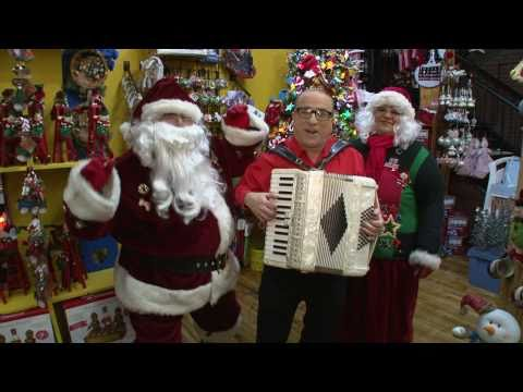 Funny Christmas Song! Parking Around The Shopping Mall