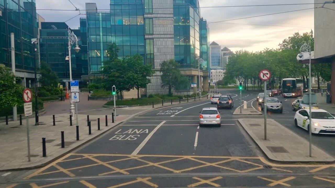 Summer in Dublin. A Bus Ride to Rathmines Via Dublin Center on June 7