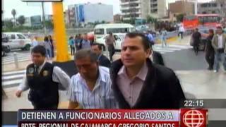 América Noticias - 140514 - Detuvieron a empresario allegado a Gregorio Santos
