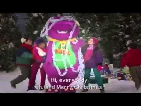 barney musical zoo night before christmas