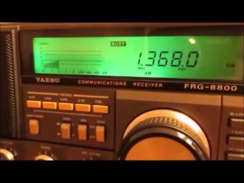 1368 Khz Manx Radio Isle of Man