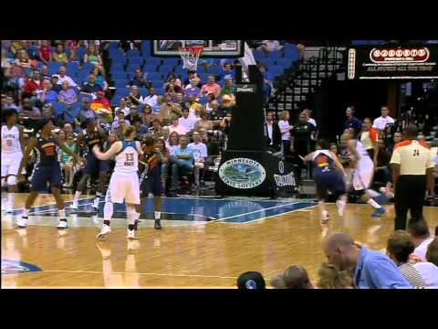 Seimone Augustus Wins Player of the Week Honors  for the Week of July 25, 2011