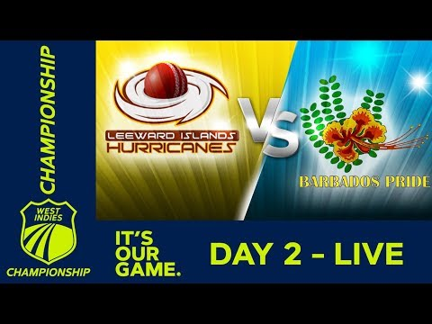 🔴 LIVE Leewards Vs Barbados - Day 1 | West Indies Championship | Friday 7th February 2020