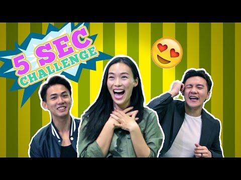 5 Seconds Challenge: (Ft. Rebecca Lim, Ian Fang & Nick Teo)