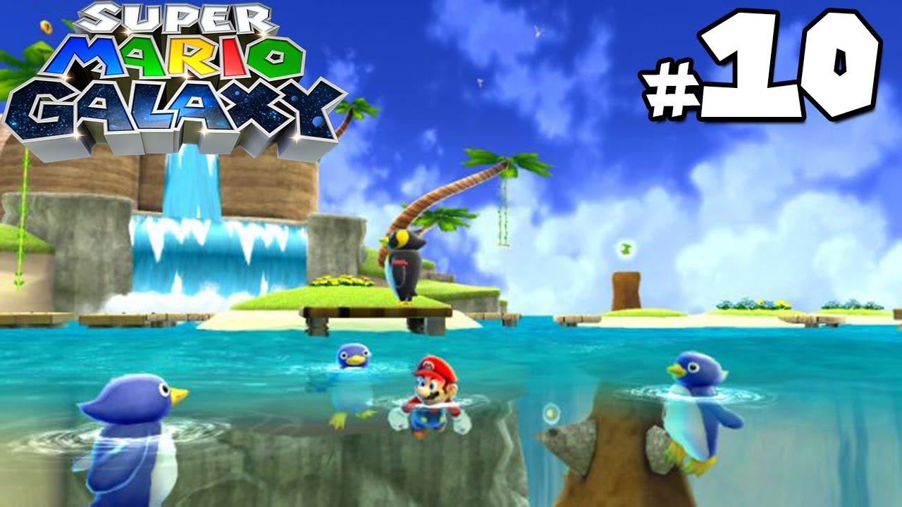 Super Mario Galaxy - Gameplay Walkthrough - Beach Bowl Galaxy - Part ...