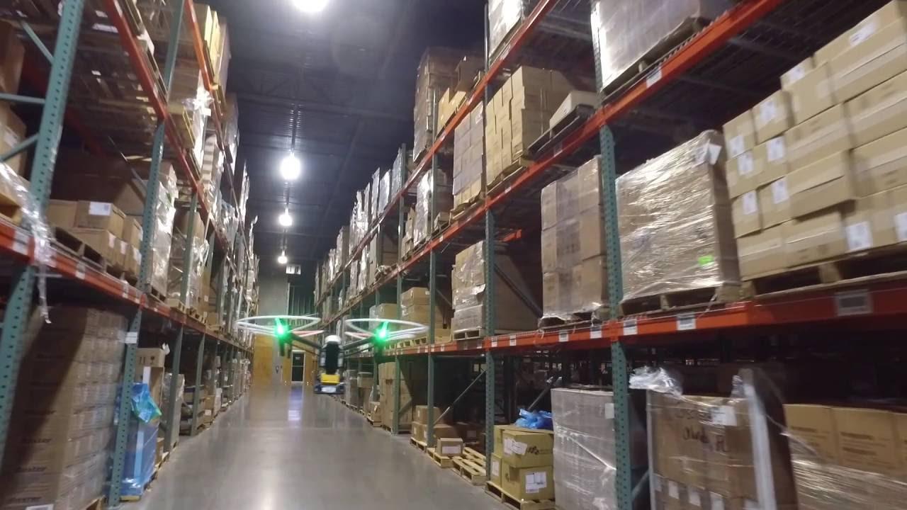 Rfid Warehouse Drone Ii Youtube