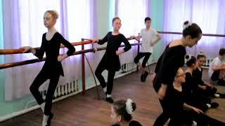 Контрольный урок хореография 2017